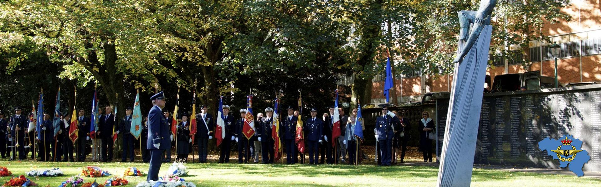 Header homepage - Belgian Air Force Association