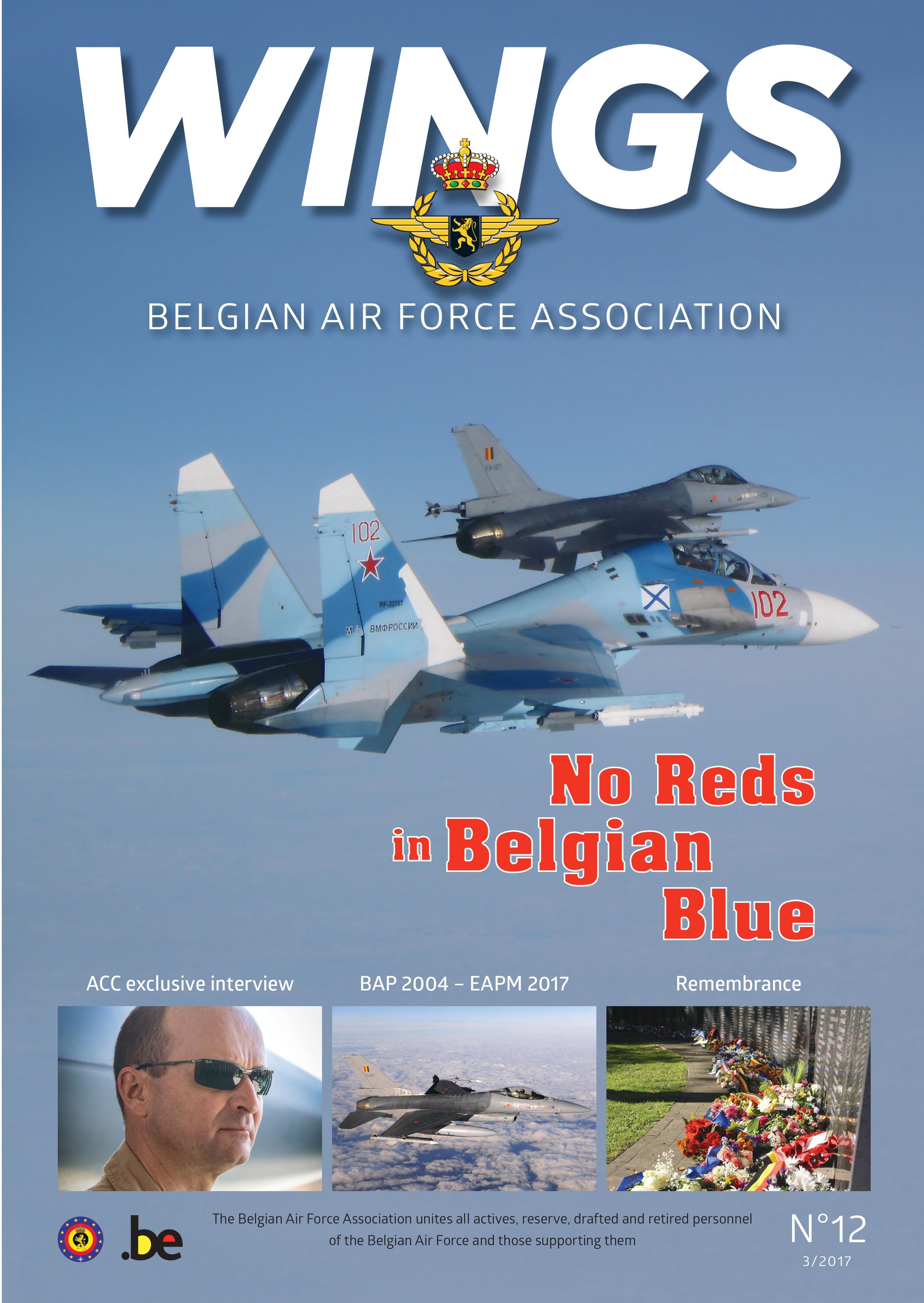 Wings 12 - Belgian Air Force Association