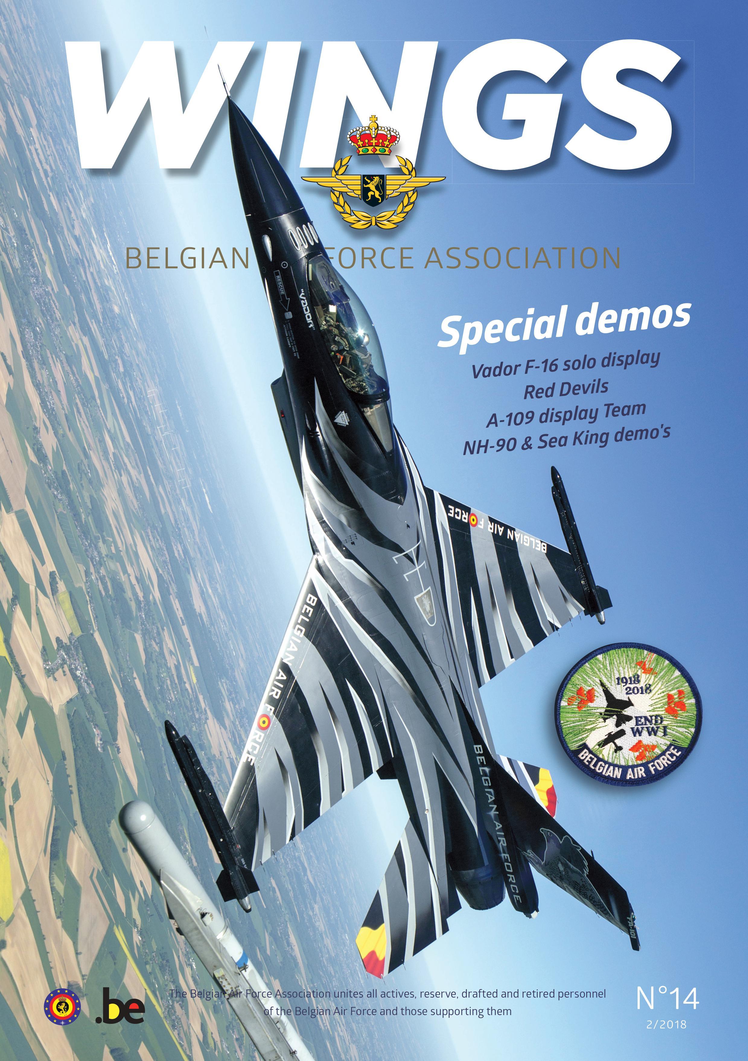 Wings 14 - Belgian Air Force Association